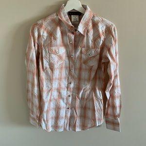 Ariat Grace Shirt Western Plaid Button Down